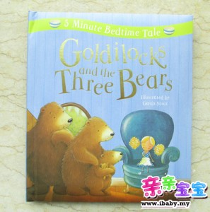 5 Minute Bed Time Tale: Goldilocks and the Three Bears (精装)【现货】