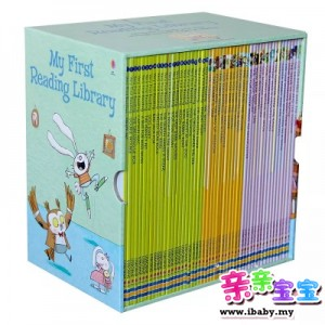 英国Usborne 出品 My First Reading Library (50 Books)附送音频伴读【预购】