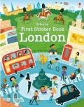 幼儿童英语贴纸书 usborne sticker book : First Sticker Book London【现货】