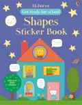 幼儿童英语贴纸书 usborne sticker book : Shapes Sticker Book【现货】