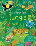 幼儿童英语贴纸书 usborne sticker book : First Sticker Book Jungle【现货】