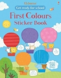 幼儿童英语贴纸书 usborne sticker book : First Colours Sticker Book【现货】