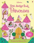 幼儿童英语贴纸书 usborne sticker book : First Sticker Book Princesses【现货】