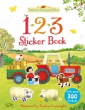 幼儿童英语贴纸书 usborne sticker book : farmyard tales 123 sticker book【现货】