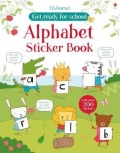 幼儿童英语贴纸书 usborne sticker book : Alphabet Sticker Book【现货】