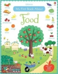 幼儿童英语贴纸书 usborne sticker book : My First Book About Food【现货】