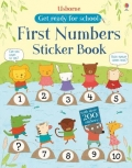 幼儿童英语贴纸书 usborne sticker book : First Numbers Sticker Book【现货】