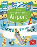 幼儿童英语贴纸书 usborne sticker book : First Sticker Book Airport【现货】